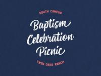 Baptism Celebration Mark