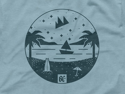 Beach Camp - Merch Samples