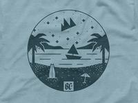 Beach Camp - Merch Samples
