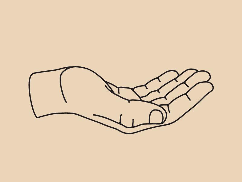 Handy dandy illustrator pen tool illustration hands