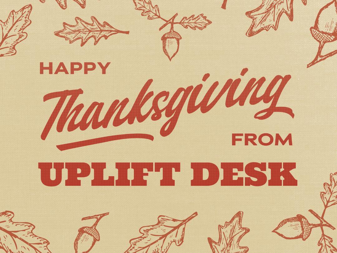 Happy Thanksgiving! texture instagram social media illustrator illustration acorns season fall leaves happy thank you thanks festivities holiday thankgiving