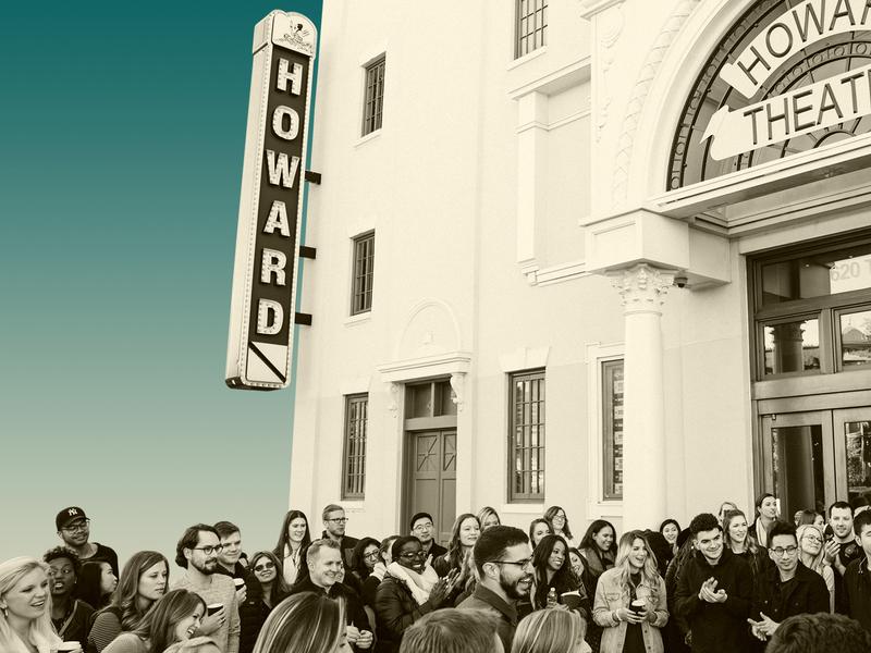 Howard Fade dc teal fade photoshop gradient howard theatre