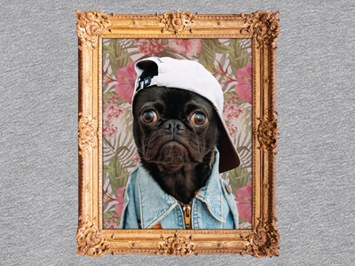 Thug Pug - A Kickstarter Make/100 exclusive