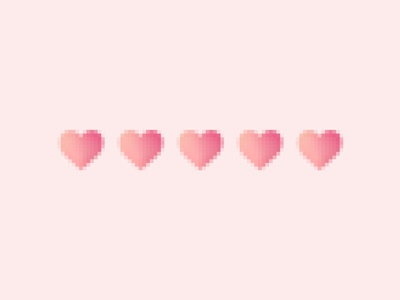 Pixeled Heart
