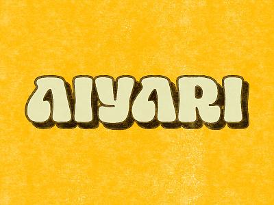 New Fluke! 80s 70s funk hand lettering logotype design lettering branding brand logotype logo retro aiyari