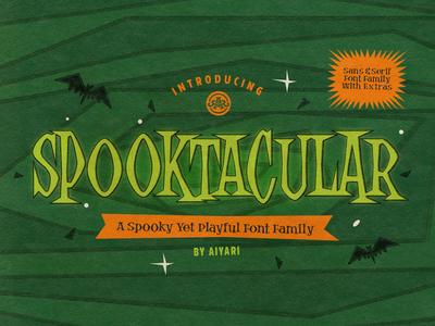 Spooktacular Font Family