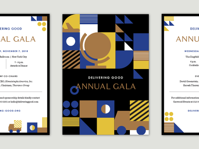Gala Invitation - save the date