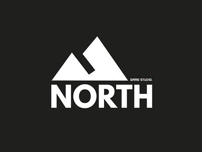 North Games Logo typography logotype logo