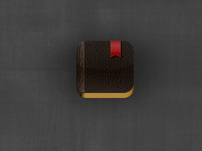 Replacement BibleReader icon icon ios iphone bible leather