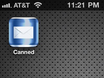 What do we have here? ios iphone app icon blue mail