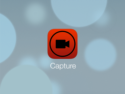 Capture for iOS 7 ios7 capture icon