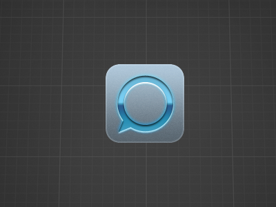Tweetlogix alternate icon ios iphone app icon blue grey tweetlogix twitter