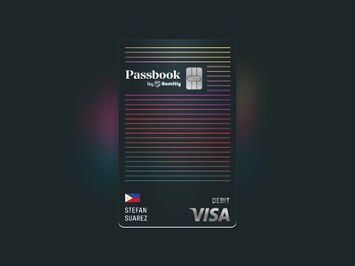 The Passbook card international immigrants credit card debit card banking app banking bank finance fintech