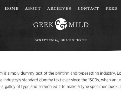 Redesign, option B georgia caslon ampersand grayscale