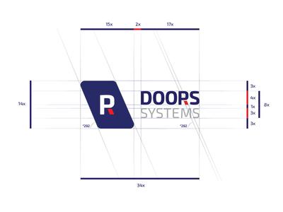 logo construction grid Doors systems