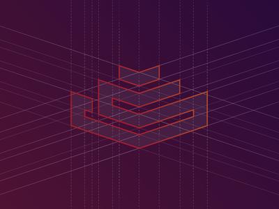logo construction grid new logo
