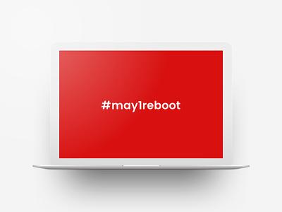Intentional Reboot... instagram portfolio minimal clean design social media ui may1reboot