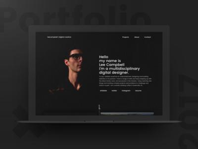 Rebooting Personal Portfolio