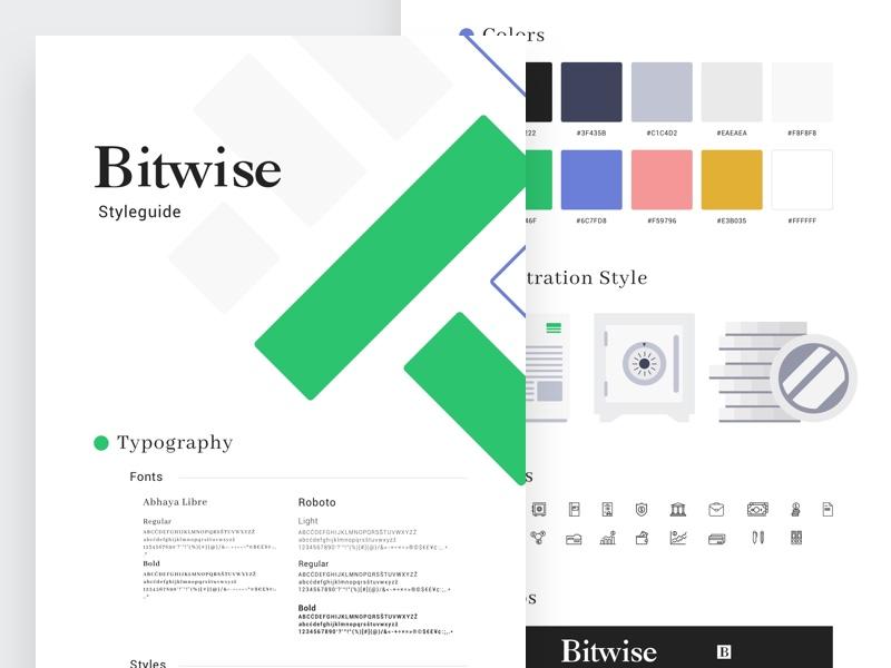 Bitwise styleguide shot