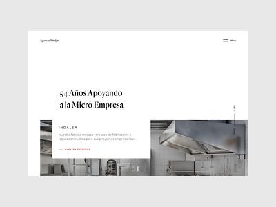 Almijar user interface website web landing page design typography ux web design clean ui minimal