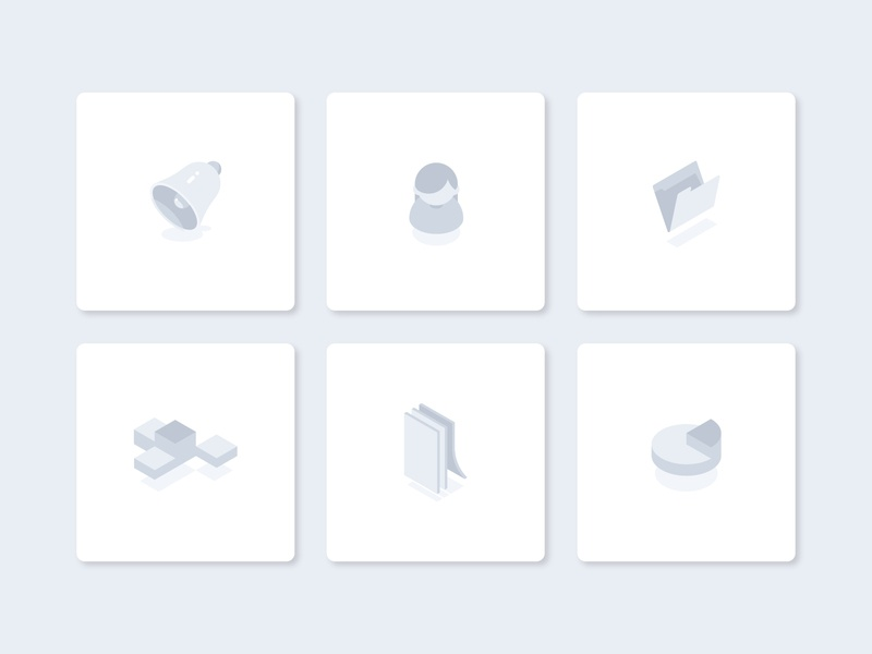 Empty states collection illustraion icons ui empty state no data