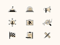 Event Venue Icons