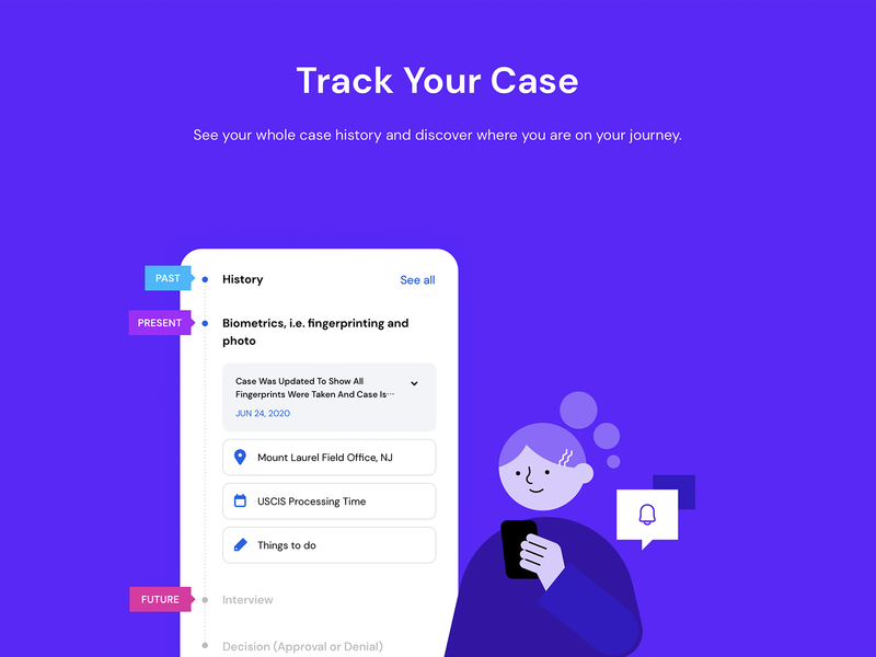 Track your case