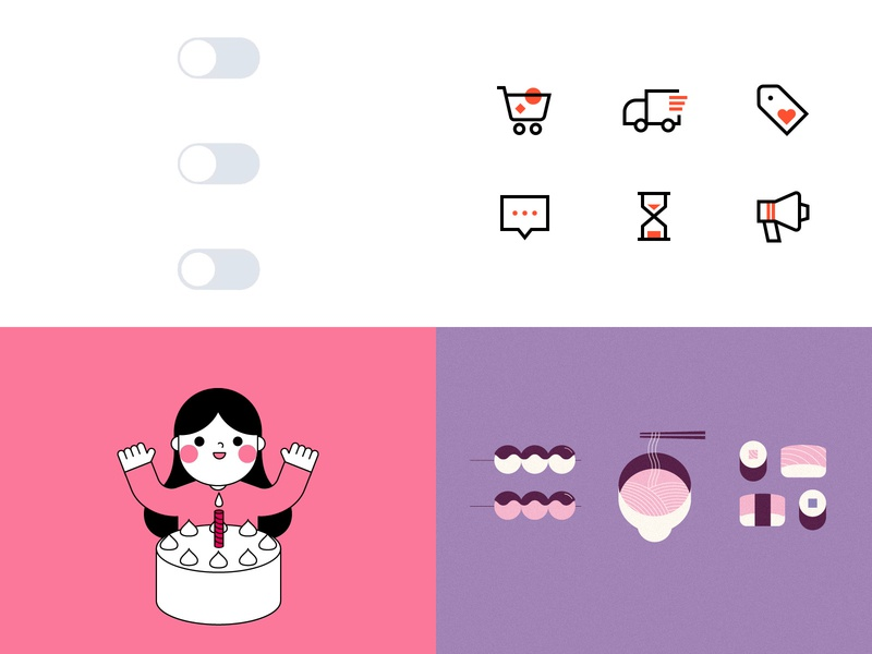 Top4Shots on Dribbble from 2018