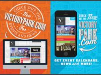Victory Park Kiosk Poster