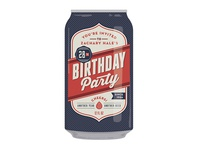 Birthday Beer Can Invite beer invite birthday
