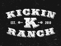 Kickin K Ranch Logo