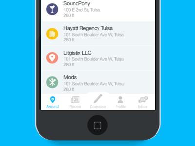 iPhone app app iphone product reviews ui tulsa