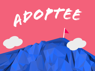 Adoptee Graphic lowpoly graphic adoption