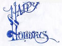 Happy Holidays Inked