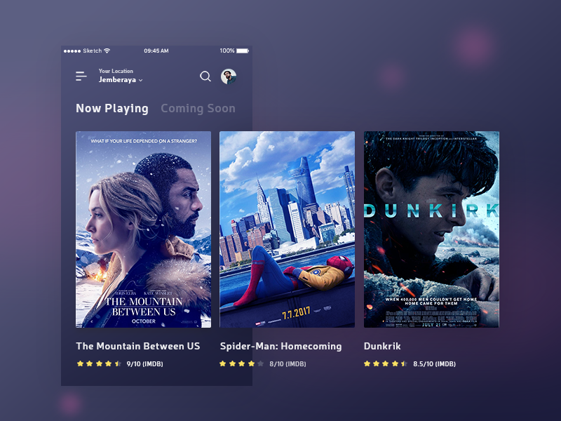 Exploration Cinema App