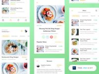 Freebie - Restaurant App UI Kit