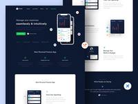 Wallet App Landing Page #2