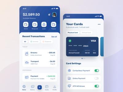 Finance App Visual Exploration