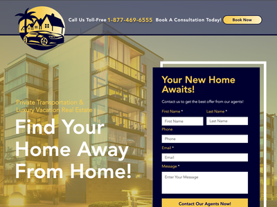 RDM Solution Co. - Luxury Vacation Planning & Real Estate design bookings webdesign front end