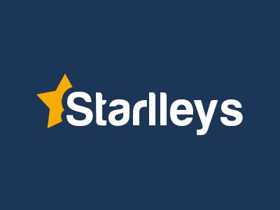 Starlleys - Logo starlleys shopping branding logo