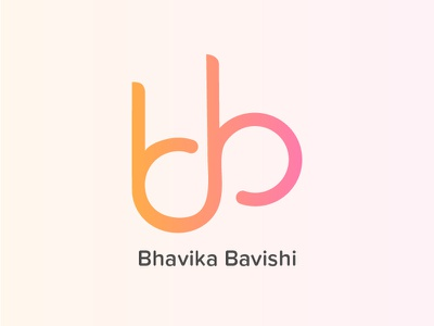 Personal Identity/Branding graphic designing soft colors letters bb logo b inspiration infinity logo design personal branding logo