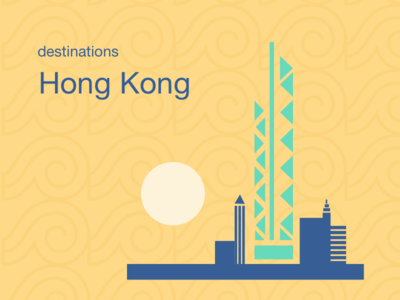 City Illustrations - Hong Kong
