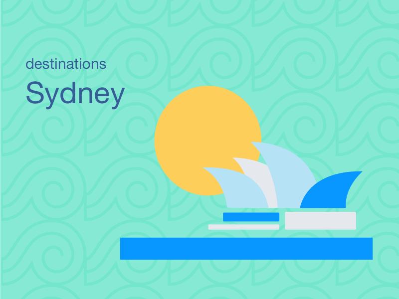 City Illustrations - Sydney opera sydney opera pattern moon skyscraper sydney city