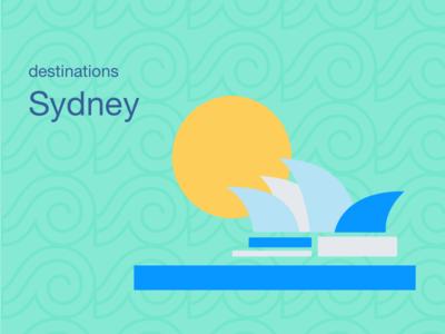 City Illustrations - Sydney