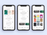 Discover New Books - GoodReads Redesign