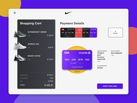 Credit Card Checkout- Purple