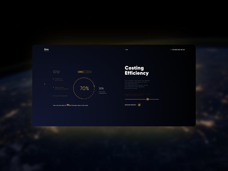 Sing Concept typography design web lettering dark page dark main page main landing page minimal website branding ux ui