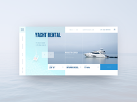 Yacht Rental concept