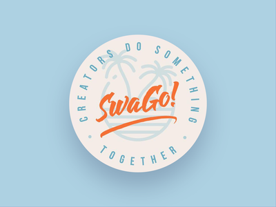 SWAGO lettering