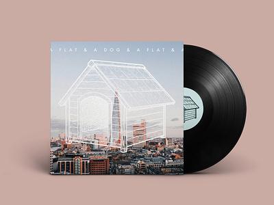 A Flat & A Dog - Concept Album Art vinyl cover vinyl design album cover design album cover album artwork album art album